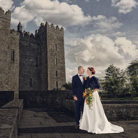 Destination Wedding in County Clare Ireland | Jordi and Marian