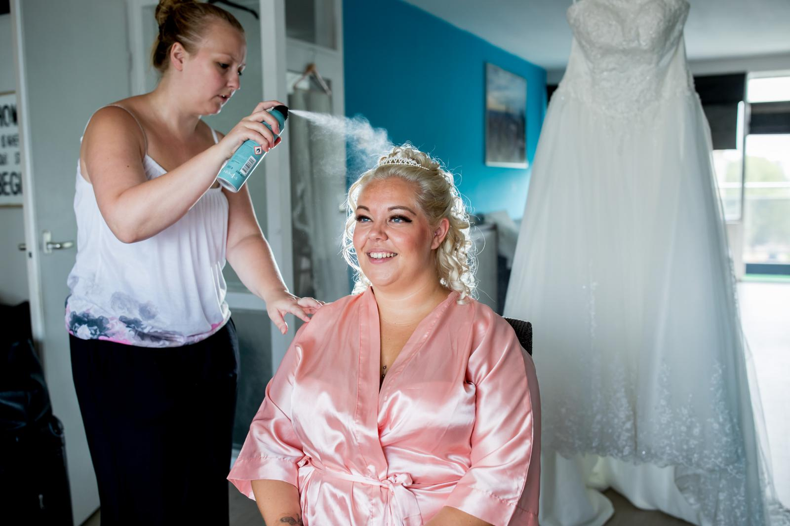 Haar en Make-up Bruid in Zoetermeer