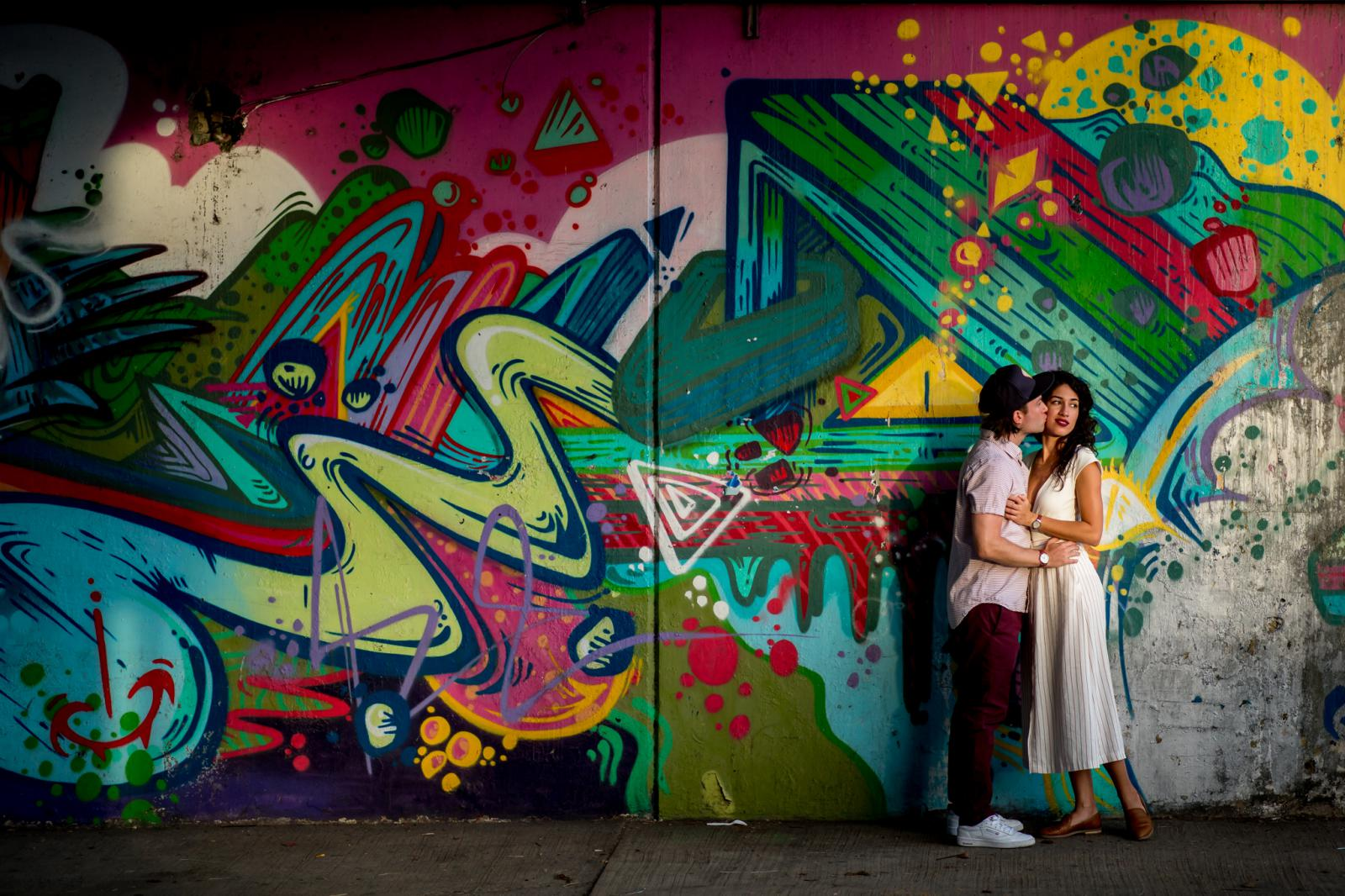 Loveshoot San Juan Graffiti Wall