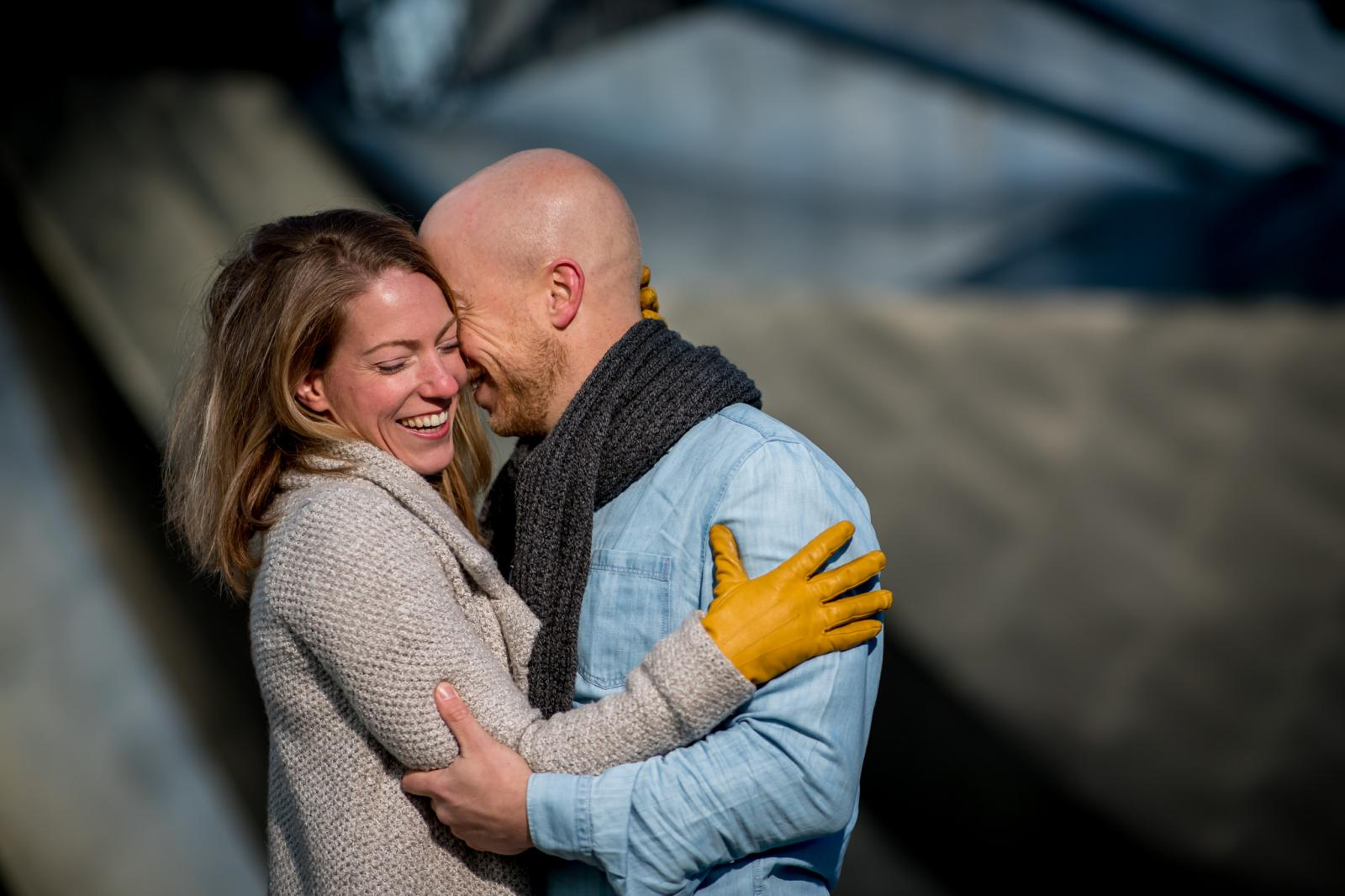 lief fluisteren tijdens loveshoot in Chicago