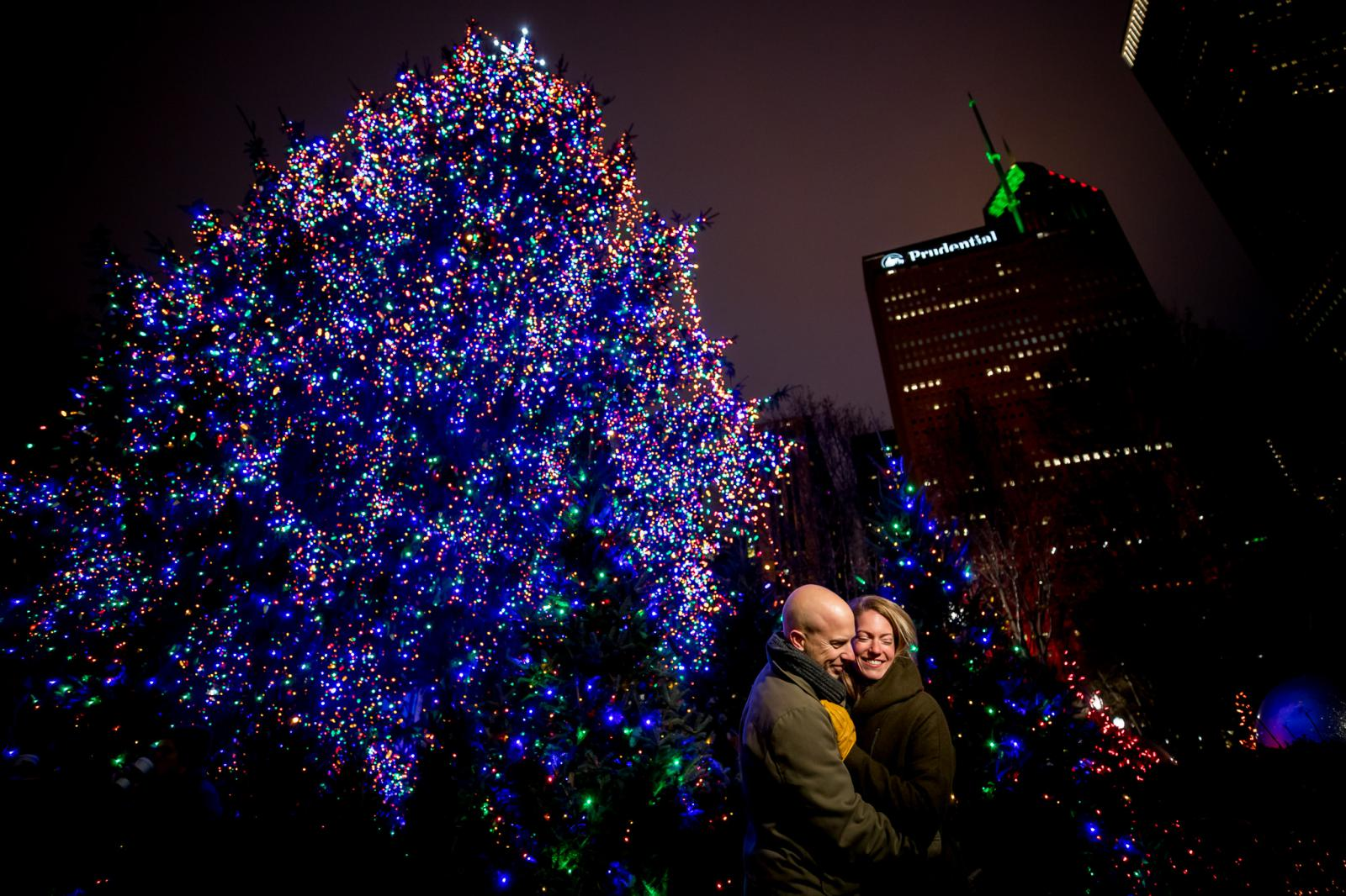Kerst loveshoot Chicago