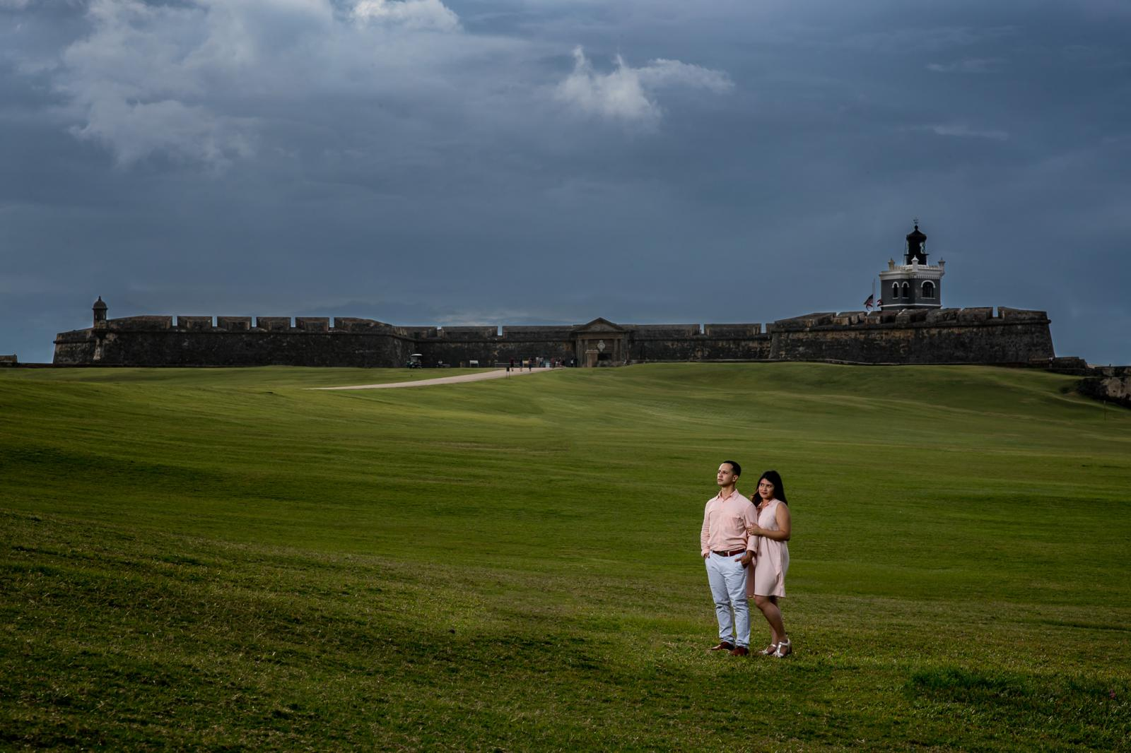 award winning destination wedding photographer El Morro San Juan Puerto Rico